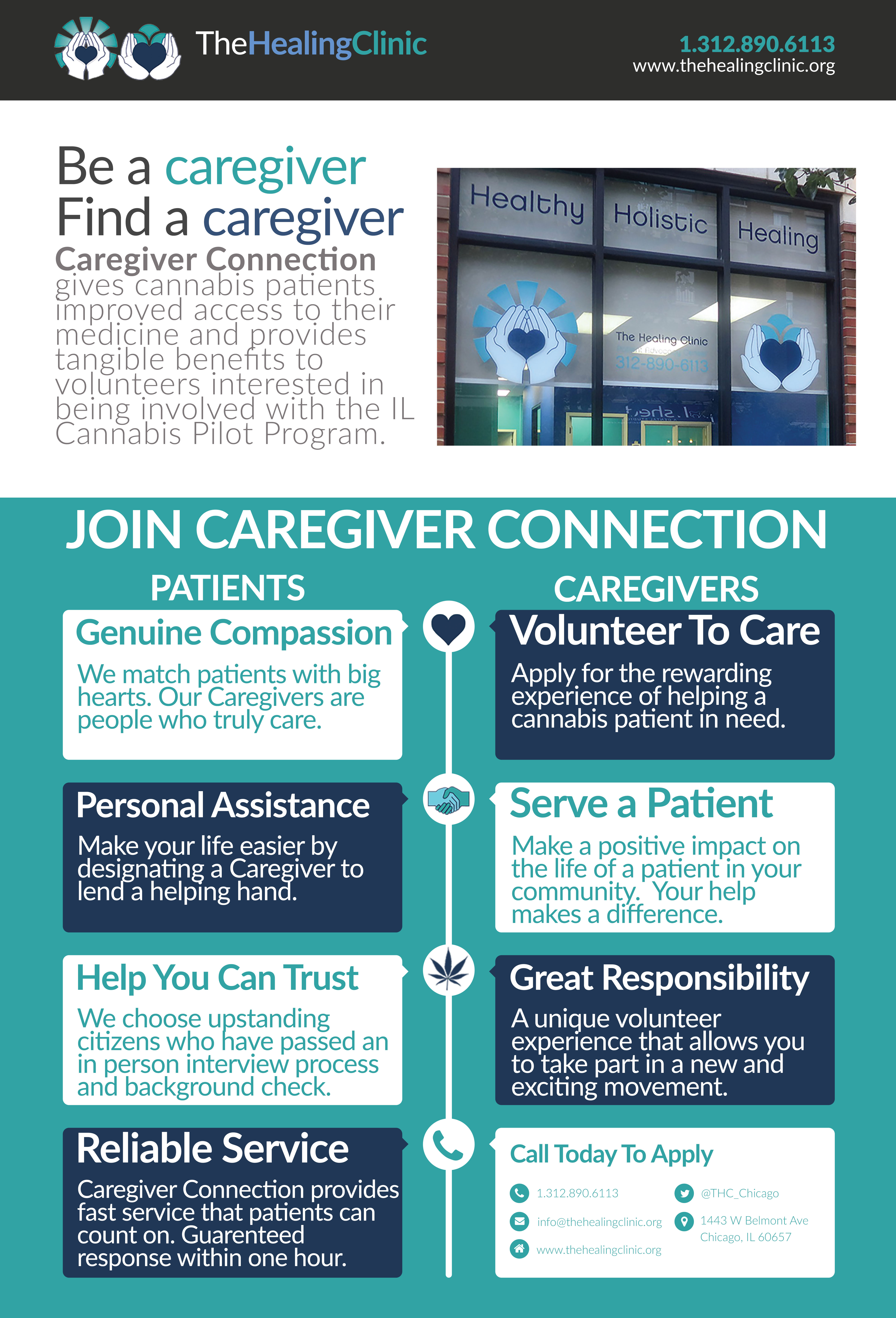 When Caregivers Need Healing >> Caregiver Connection Chicago Illinois The Healing Clinic