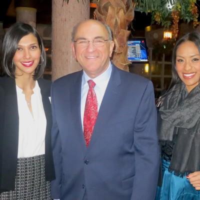 Feliza Castro, Rep. Lou Lang and Valerie Trevino