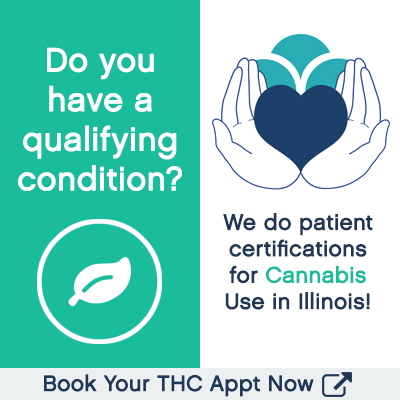 Book a cannabis patient certification appointment with The Healing Clinic in Illinois