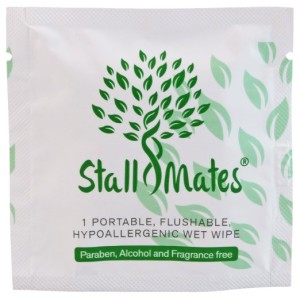 Portable wet wipes
